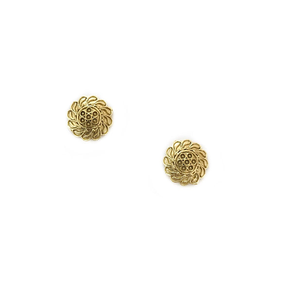 Peta Earrings Gold