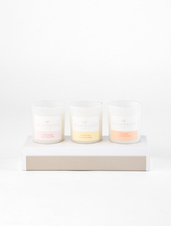Palm Beach Mini 3 Candle Gift Pack
