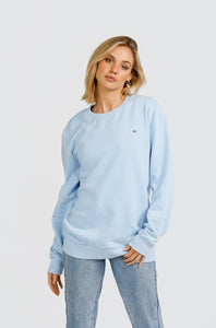 Basic Crew Pale Blue