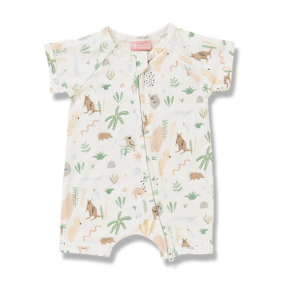 Outback Dreamers Cream Summer Sleep Suit