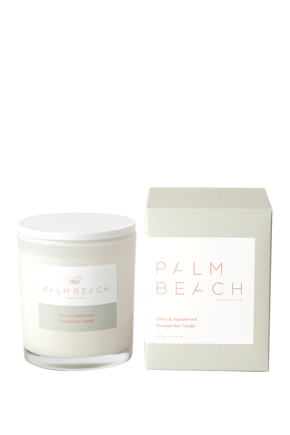 Palm Beach Clove & Sandalwood Standard Candle