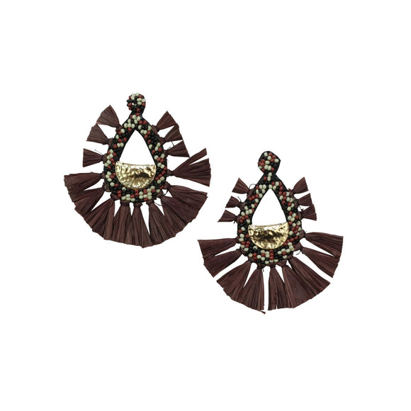 Burgundy Crush Earrings