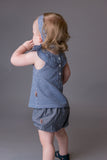 Baby Girls Polly Top Gingham