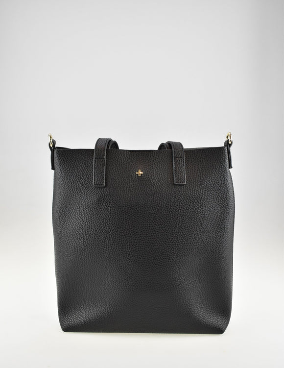 Sage Tote Bag Black Pebble