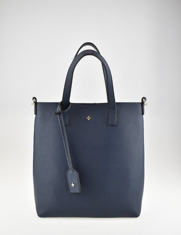 Sage Tote Bag Navy Pebble