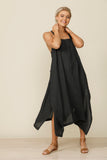 Cefalu Dress Charcoal