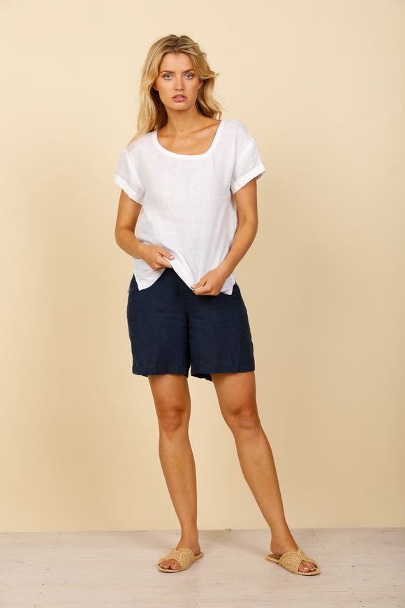 Nautica Top White