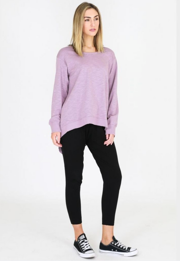 Newhaven Sweater Lilac