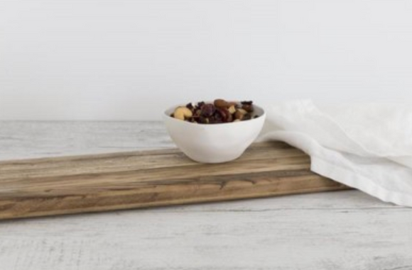 Flax Fruit Bowl Snow White