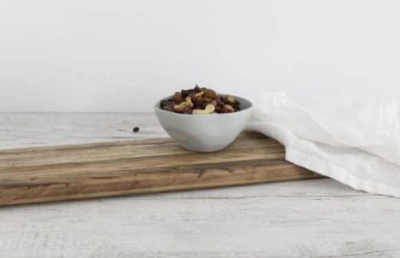 Flax Fruit Bowl Small Duck Egg