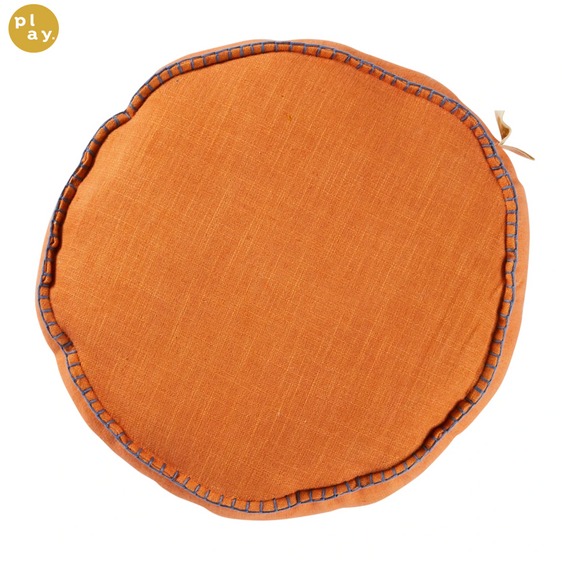 Rylie Round Cushion - Melon