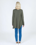 Willow Long Sleeve Tee Khaki