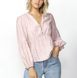Right On Time Blouse Lilac