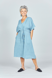 Sadie Dress River Blue