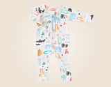 Baby Love Long Sleeve Zip Suit