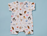 High Flyin Birds Summer Sleep Suit