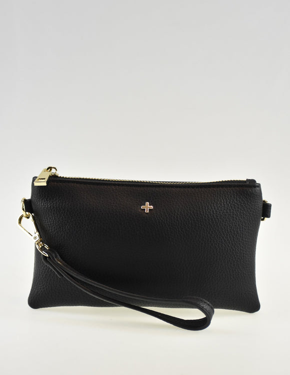 Tahnee Pouch Black Pebble