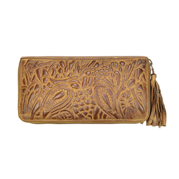 Taylor Leather Wallet Cognac
