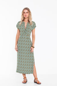 Ludisia Dress Zen Green