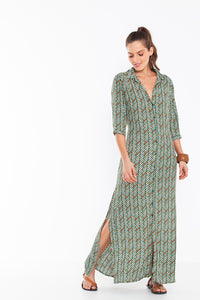 Ansley Dress Zen Green