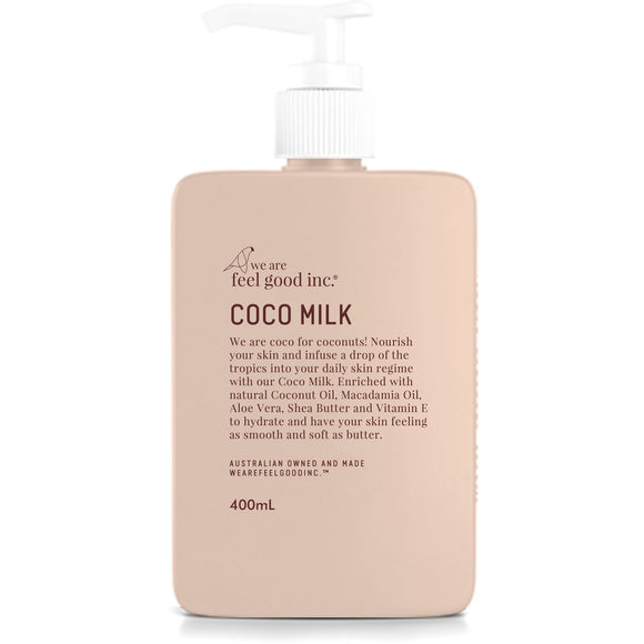 Coco Body Milk Coconut Moisturiser 400ml