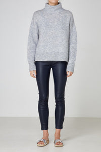 Eva Knit Grey Marle