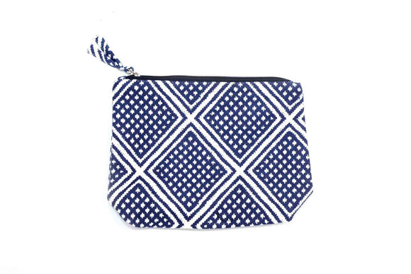 Hazel Purse Blue