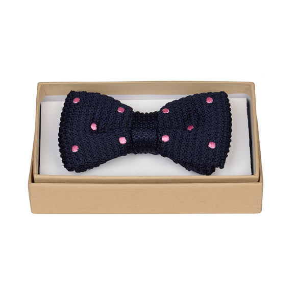 Lucas Knitted Bow Tie