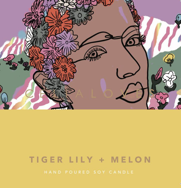 Celia Loves Large 80hr Candle Tiger Lily & Melon