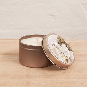 Travel Tin Candle Brass