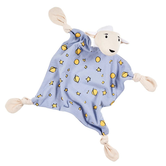 The Lamb /Le Mutton Organic Baby Security Blanket