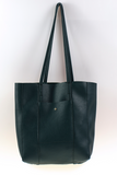 Liv Tote Green Pebble