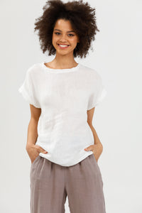 Percy Top White