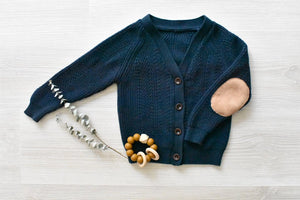 Frankie Knit Cardigan Navy