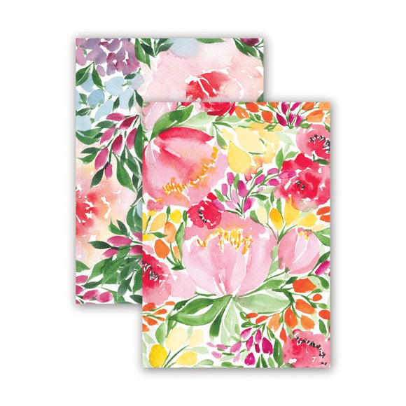Floral Set of 2 A5 Notebooks