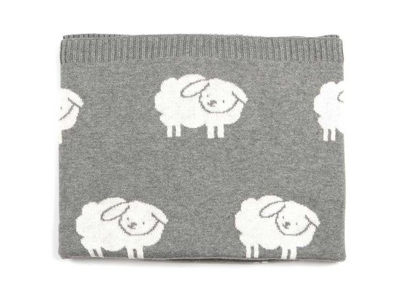 Snuggly Lamb Baby Blanket