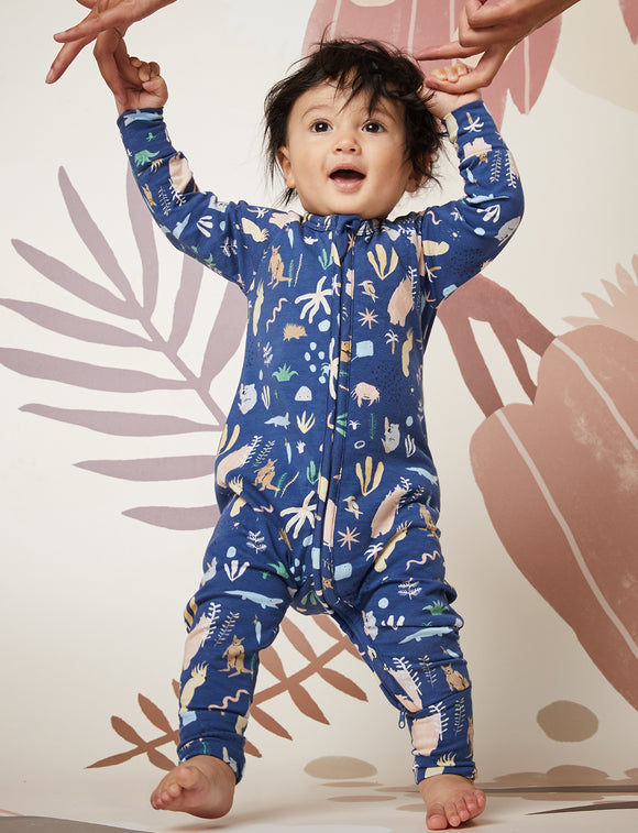 Outback Dreamers Midnight Sleep Suit