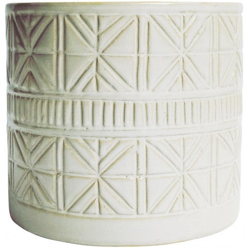 Sahara Planter White Large