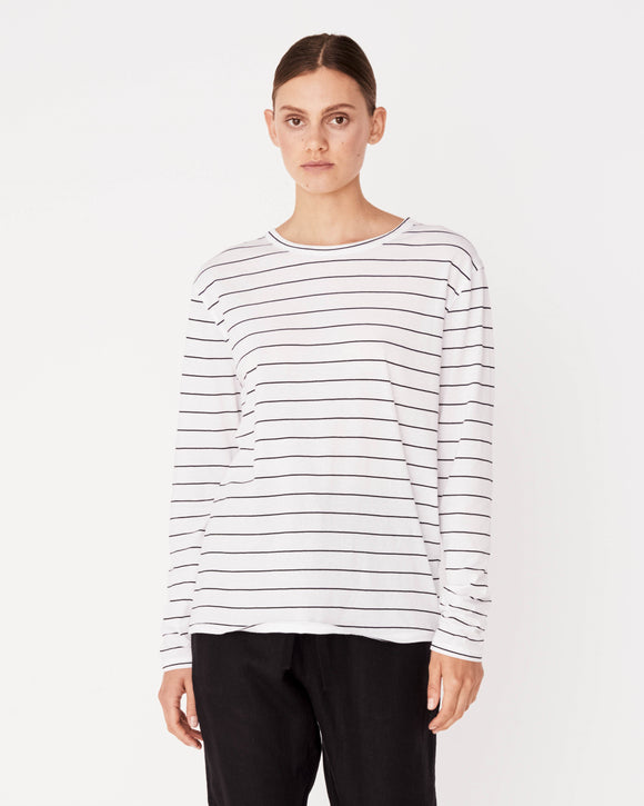 Bay Long Sleeve Tee Vanna Stripe