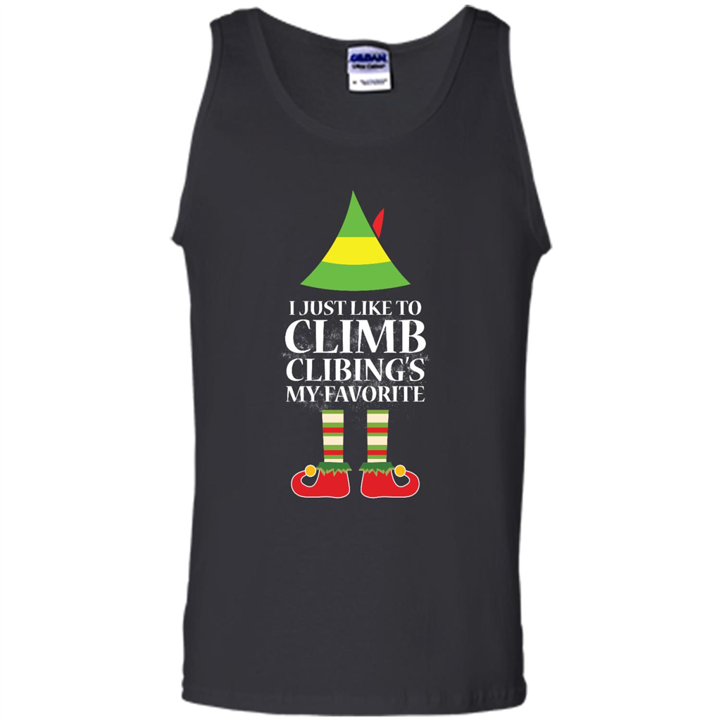 I Just Like To Climb Climbing is My Favorite Christmas Sweater ...