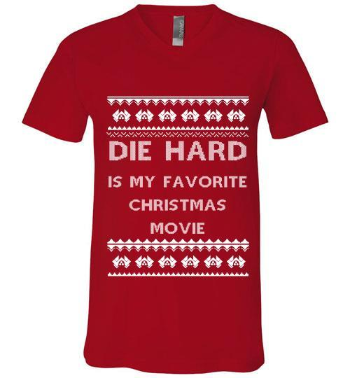 die hard is my favourite christmas movie sweater hoodie v neck shirt