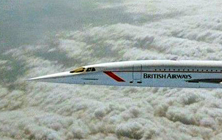The Only Picture Ever Taken...of a Supersonic Concorde