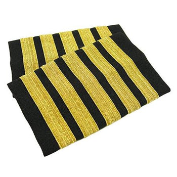 5 Bar Epaulettes, Funny Aviation, Airline Supply, Pilot Supply, Crew Supply, Pilot Uniform