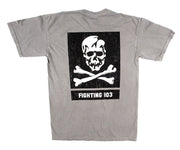 VF-103 shirt - Jolly Rogers Shirt - USN Shirt - US Navy Shirt - Military Aviation Shirt - Aviation Shirt - F-14 Shirt - F-14 Tomcat - Skull and Crossbones - Military Shirt