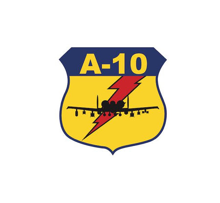 A-10 Warthog - A-10 Decal - A-10 Sticker - Military Decal-Aviation Decal-Aircraft Sticker-Aircraft Markings-Aviation Sticker-Military Aircraft Decal - Aviation Decal - USAF Decal - Aircraft Sticker - Airplane Sticker - Military Decal
