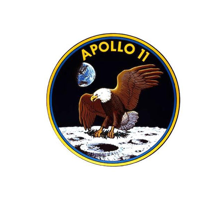 Apollo 11 - Apollo 11 Decal - Apollo Program - NASA Decal-Nasa Insignia-Space Sticker-Military Decal-Aviation Decal-Aircraft Sticker-Aircraft Markings-Aviation Sticker-Military Aircraft Decal- Space Decal - NASA Meatball- Nasa Decal