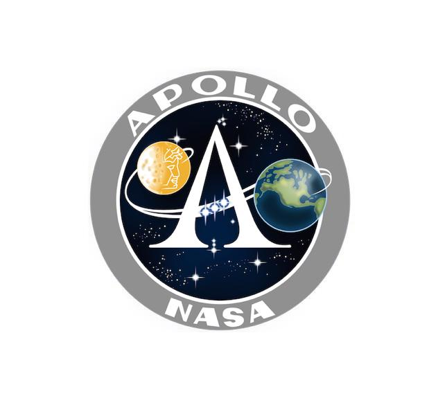 Apollo Program - Apollo Decal - Apollo Sticker - NASA Decal-Nasa Insignia-Space Sticker-Military Decal-Aviation Decal-Aircraft Sticker-Aircraft Markings-Aviation Sticker-Military Aircraft Decal
