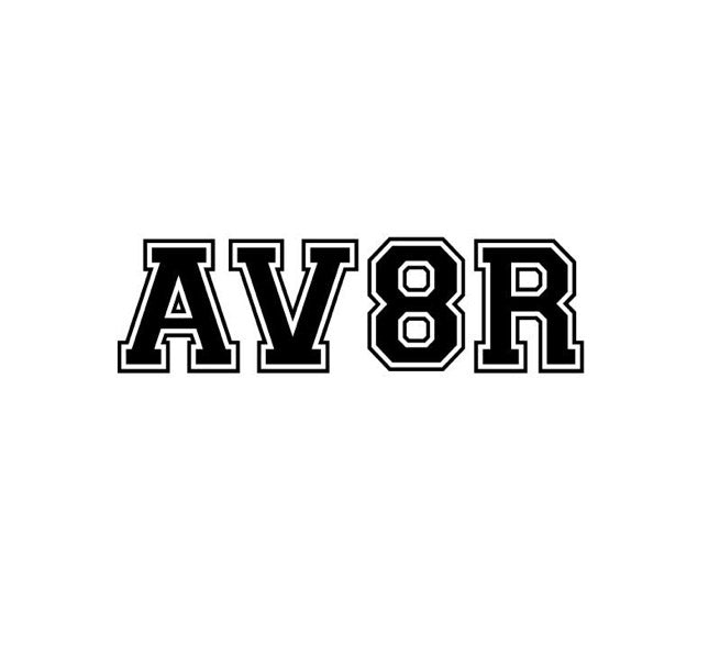 Aviation Sticker, AV8R Sticker, Aviator Sticker, Airplane decals, Aviation Decals, Pilot Supply, Funny Decals, Aircraft Markings