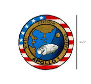 Apollo 1 - Apollo 1 Decal - Gus Grissom - Apollo Program - Apollo Decal - Apollo Sticker - NASA Decal-Nasa Insignia-Space Sticker-Military Decal-Aviation Decal-Aircraft Sticker-Aircraft Markings-Aviation Sticker-Military Aircraft Decal - Space Decal - NASA Decal