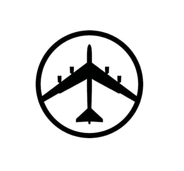 B52 Bomber-B52 Decal-USAF Decal-Military Decal-Aviation Decal-Aircraft Sticker-Aircraft Markings-Squadron Markings-Aviation Sticker-Military Aircraft Decal